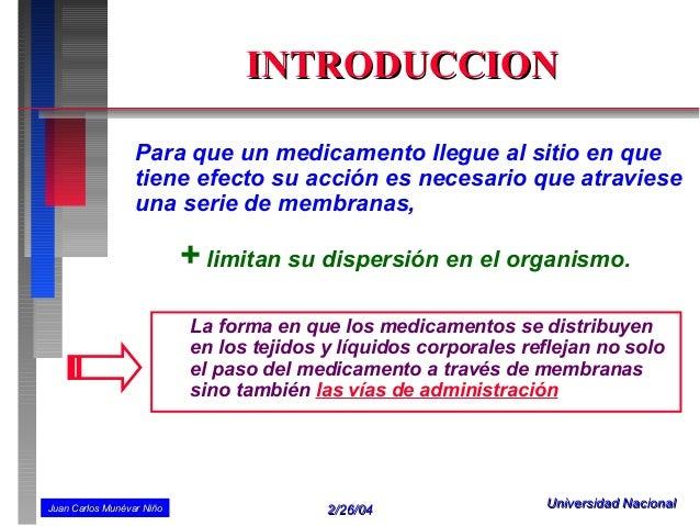 VÍAS DE ADMINISTRACIÓN DE MEDICAMENTOS Slide 2
