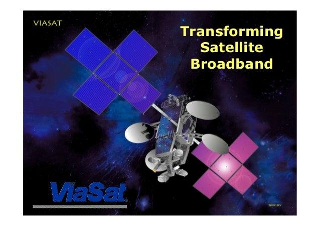 Transforming Satellite Broadband