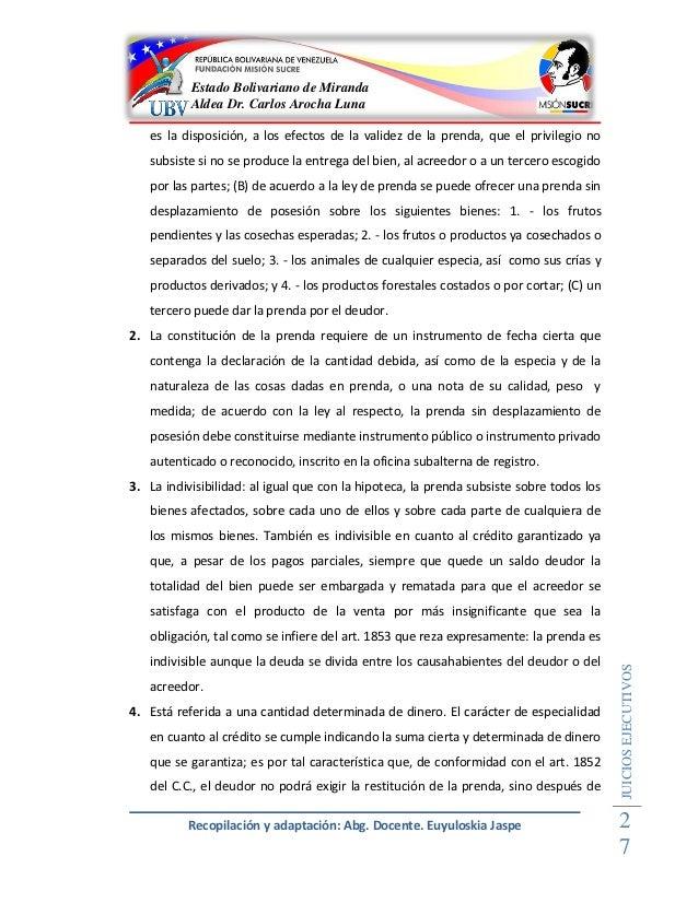 Vias ejecutivas for Validez acuerdo privado clausula suelo
