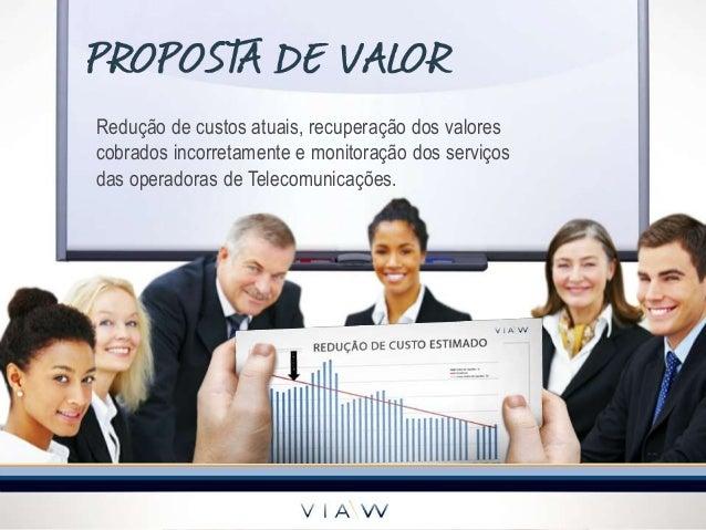 Redução de custos atuais, recuperação dos valorescobrados incorretamente e monitoração dos serviçosdas operadoras de Telec...