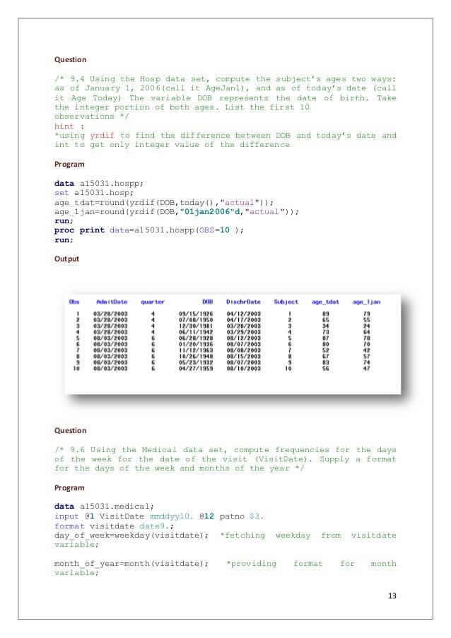 SAS Tutorial - Learn SAS Programming