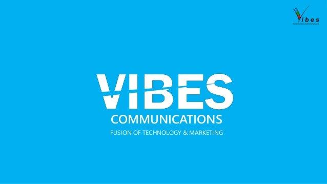 COMMUNICATIONS FUSION OF TECHNOLOGY & MARKETING