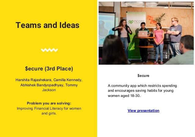 NEXT STEPS FOR WINNERS INCUBATION WHAT DID THEY WIN Bunji 1st + $1,500 in cash + 3 months co-working space at Vibewire for...