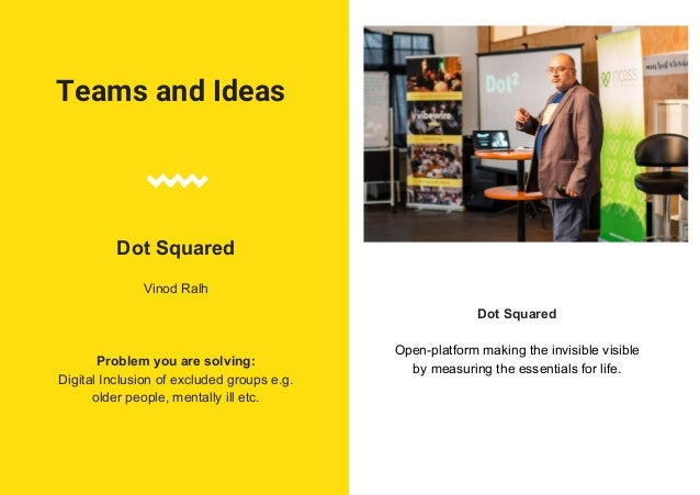 Teams and Ideas Bunji (1st Place) Ned Barnfield, Geoffrey Pidcock, Steve Ng and Engramar Bollas Problem you are solving: I...