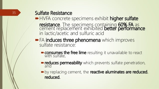 hvfa concrete The use of hvfa concrete mixtures including ic may potentially be utilized to reduce shrinkage and shrinkage cracking [26] fur-thermore, the use of ic may provide a method to increase early-age strength gain and may enable the mixture to react for a longer.