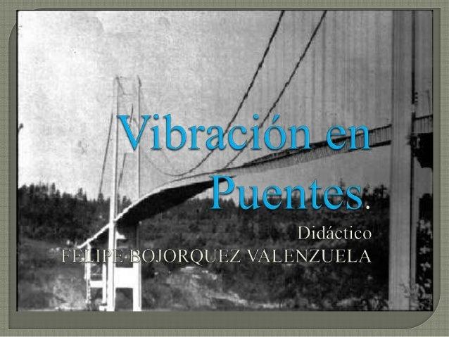 Indagar sobre el control de vibraciones así como los posibles causantes de esta, algunos dispositivos usados para el cont...
