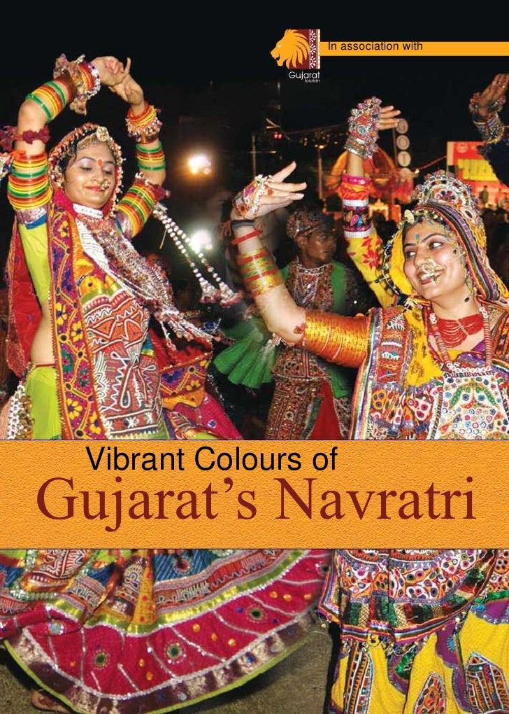 In association with<br />Vibrant Colours of<br />Gujarat's Navratri<br />