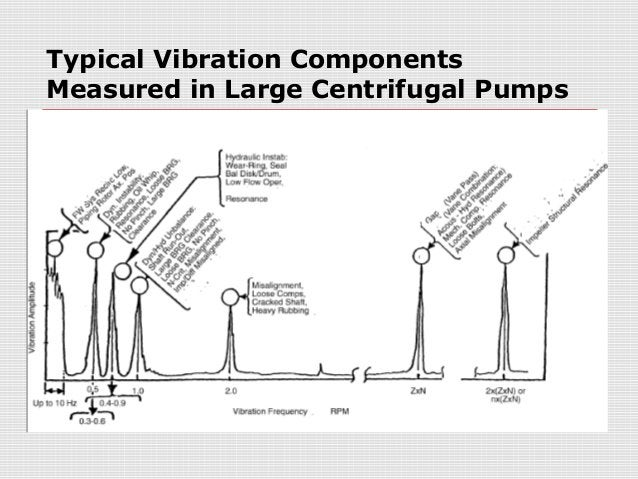 Typical Vibration ComponentsMeasured in Large Centrifugal Pumps