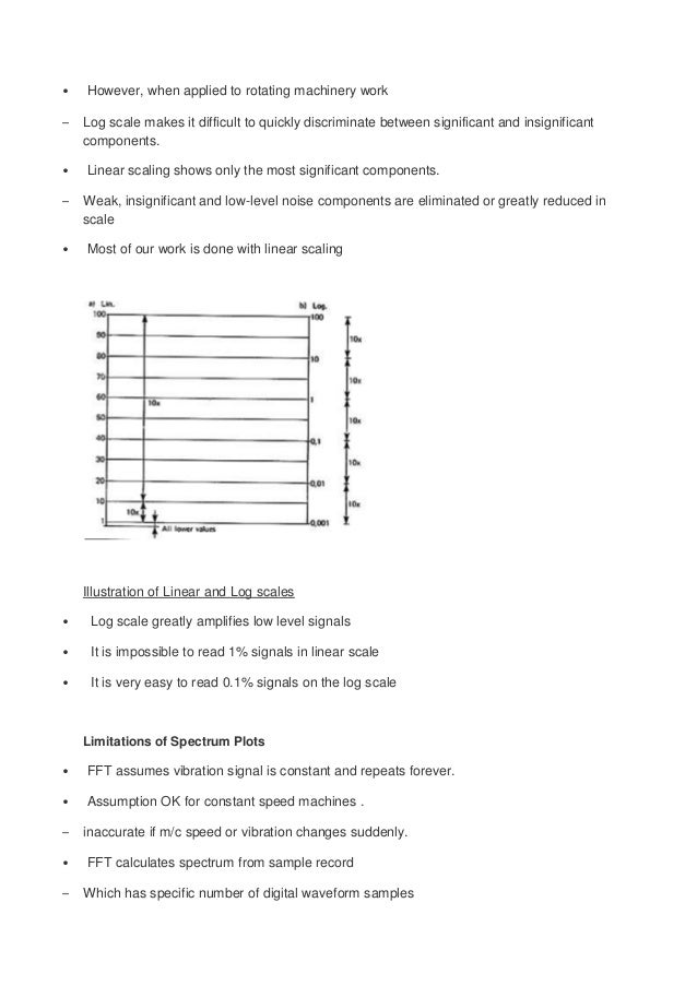 vibration analysis procedure Various maintenance methods ➢ breakdown ➢ preventive ➢ predictive ➢  reliability centered (proactive) vibration analysis ➢ what is machine vibration.