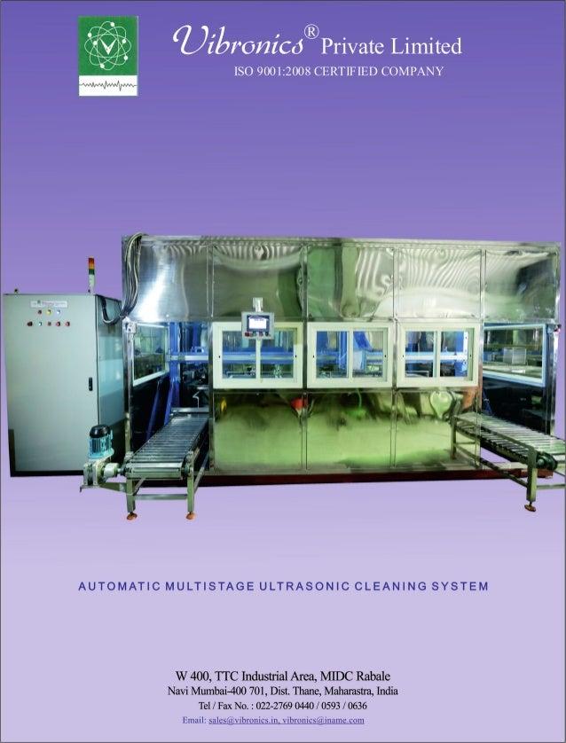 Vibronics Pvt. Ltd., Navi Mumbai, Flaw Detectors Slide 2