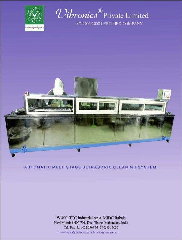 Vibronics Pvt. Ltd., Navi Mumbai, Flaw Detectors Slide 3