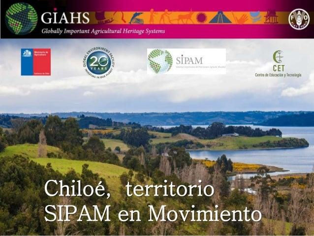 Chiloé, territorio SIPAM en Movimiento