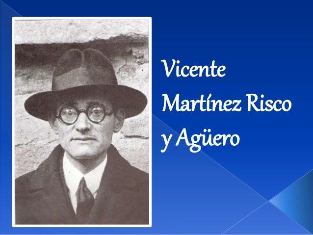 Vicente Martínez Risco y Agüero