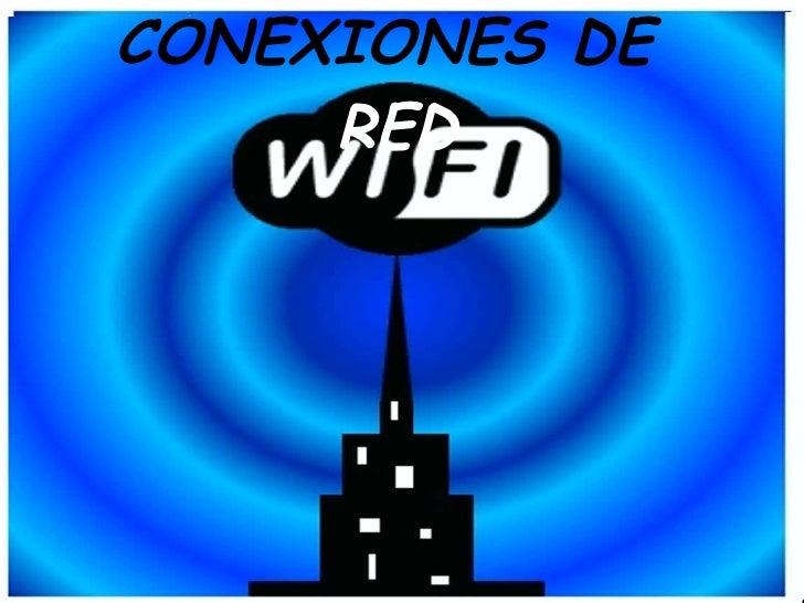 CONEXI ONES  DE  RED