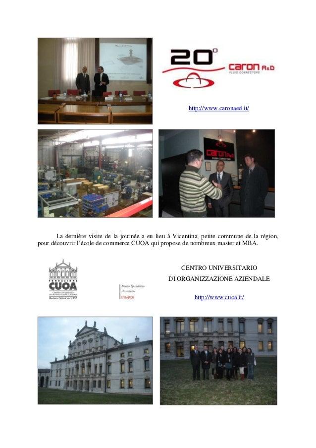 http://www.caronaed.it/ La dernière visite de la journée a eu lieu à Vicentina, petite commune de la région, pour découvri...