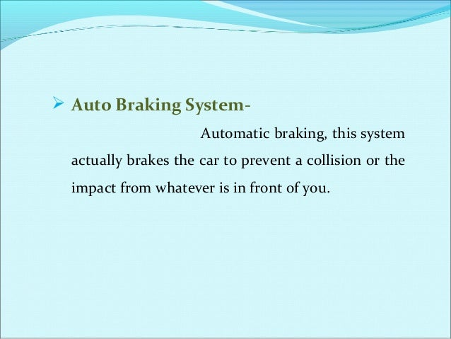  The Device has designed as when any person touch or damage the part of vehicle then sensor release a information to the ...