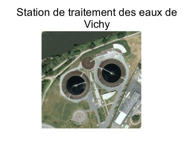 Station de traitement des eaux de               Vichy