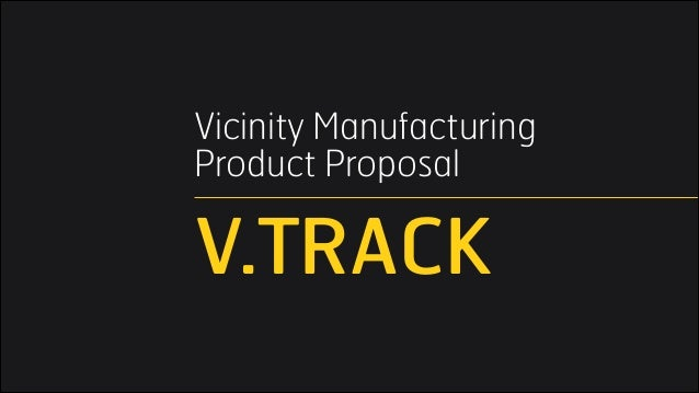 Vicinity Manufacturing 