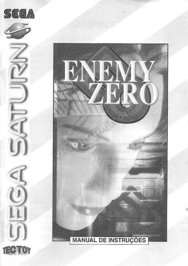 Enemy Zero (Sega Saturn) - Manual PT-BR
