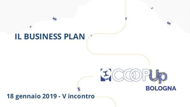 18 gennaio 2019 - V incontro IL BUSINESS PLAN