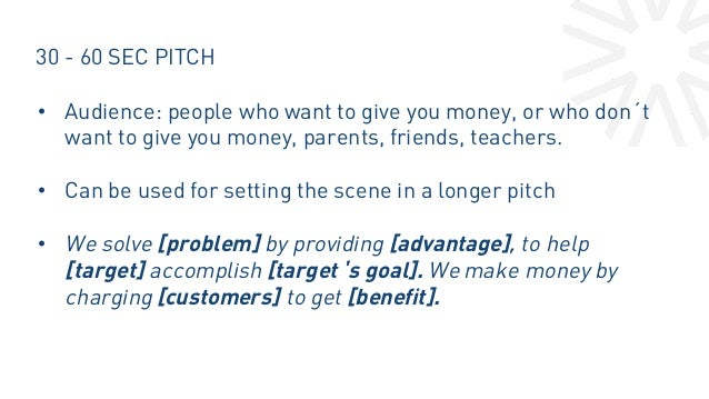 how to create a pitch