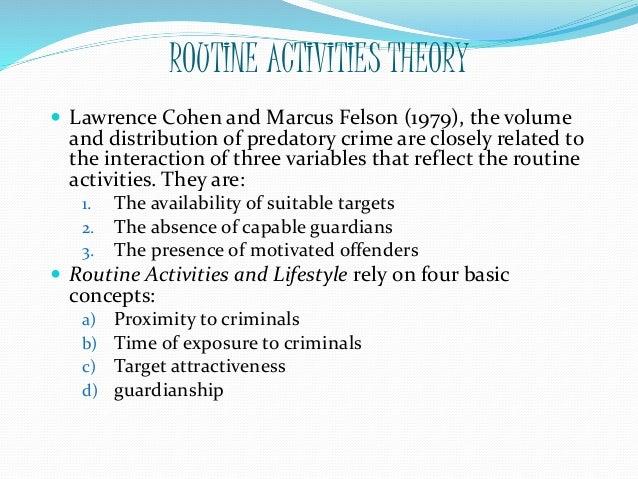 lifestyle theory criminology