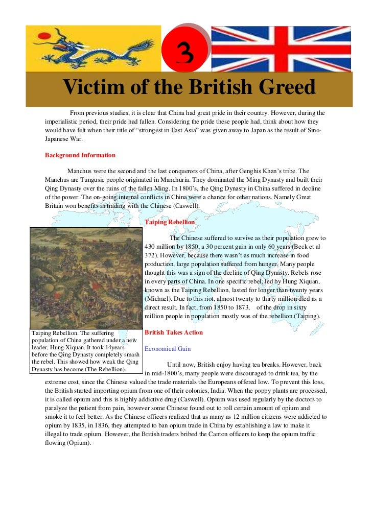 Before Reading                                                      3           Victim of the British Greed              F...