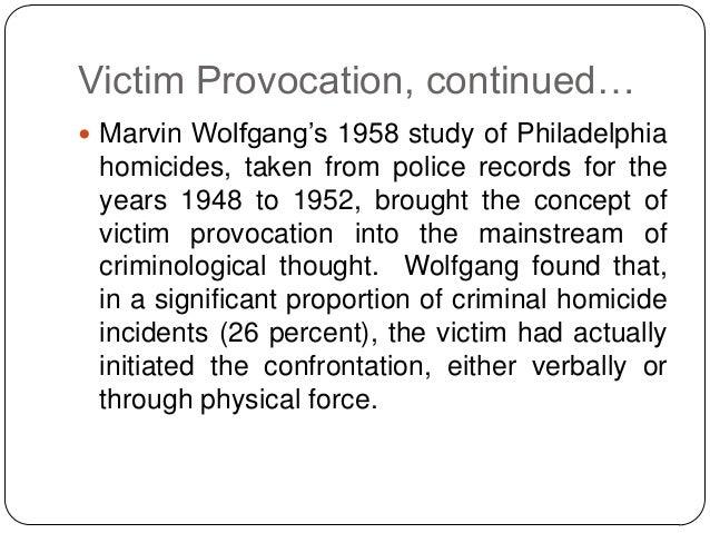 marvin wolfgang victim precipitation