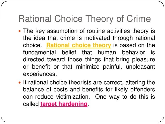 victimology crime and deviant place theory Victimology: definition, theory  the offender to commit the crime the theory also relates to what  victim precipitation: definition & theory related.