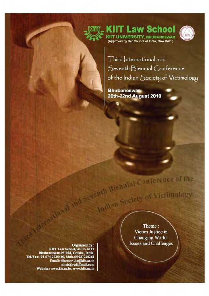 Victimology conference