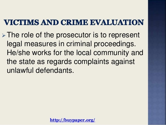 Help on essays victims of crime