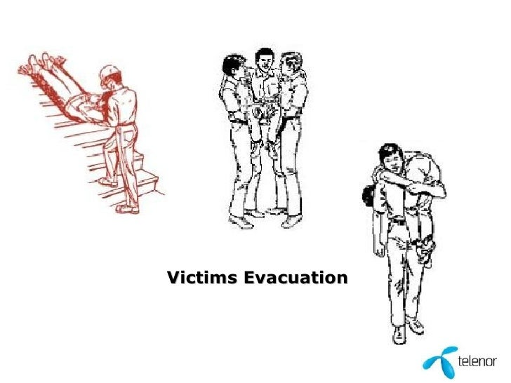Victims Evacuation