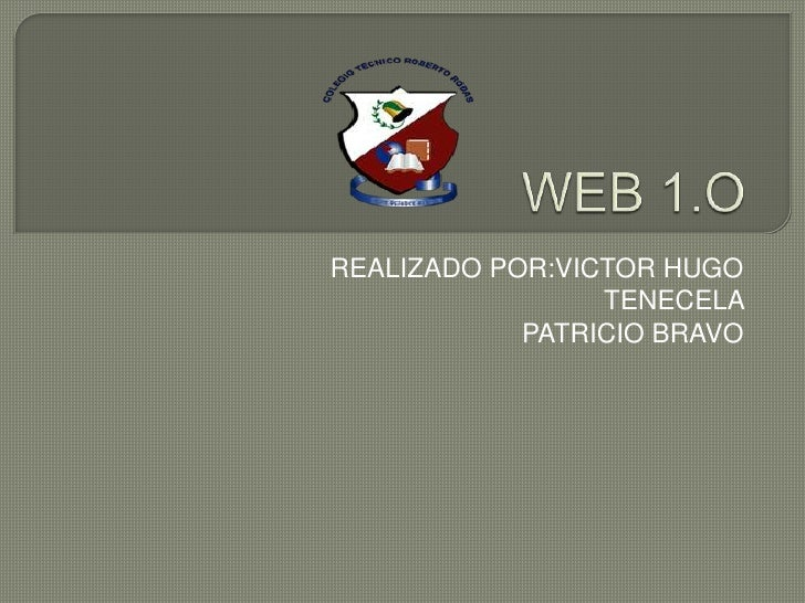 REALIZADO POR:VICTOR HUGO                 TENECELA            PATRICIO BRAVO