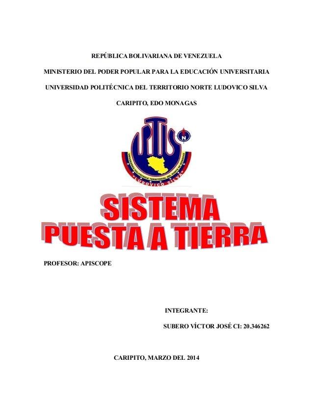 REPÚBLICA BOLIVARIANA DE VENEZUELA MINISTERIO DEL PODER POPULAR PARA LA EDUCACIÓN UNIVERSITARIA UNIVERSIDAD POLITÉCNICA DE...