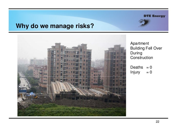 risks in construction projects Abstract the paper presents risk assessment of construction projects the assessment is based on the multi-attribute de- cision-making methods the risk evaluation attributes are selected taking into consideration the interests and goals of the stakeholders as well as factors that have influence on the construction process.