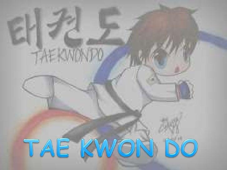 El taekwondo fue un artemarcial transformado endeporte de combate olímpico,es el deporte nacional deCorea del Sur.