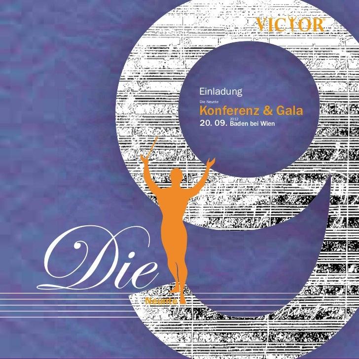 Einladung           Die Neunte           Konferenz & Gala                        2012           20. 09. Baden bei WienDie ...