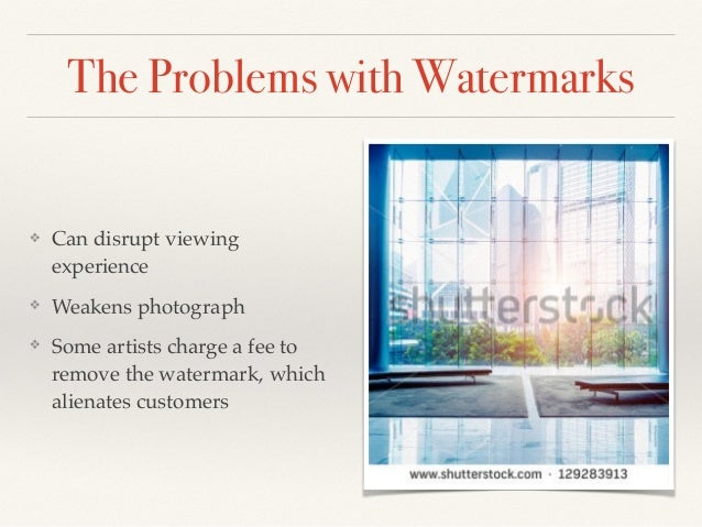 Victoria Marshman's Photography Tips: Dealing with Watermarks