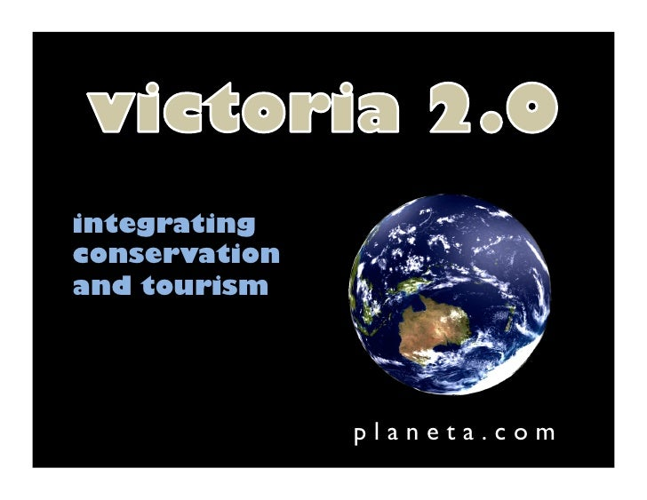 integrating conservation and tourism                    p l a n e t a . c o m