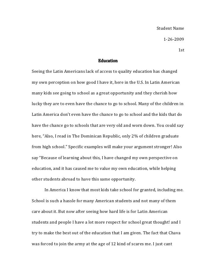 child iers essay child iers essay student