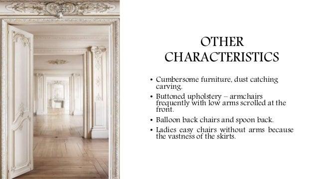 ... era (Restoration); 11. OTHER CHARACTERISTICS ...