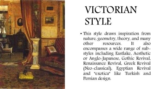 ARCHINT: Victorian Period (Interior Design + Furniture Design)