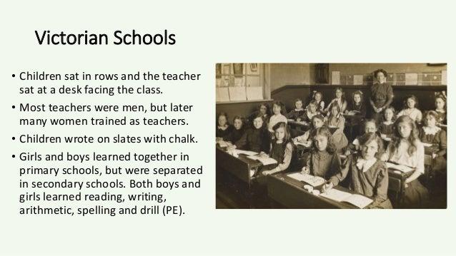 mens education in victorian era