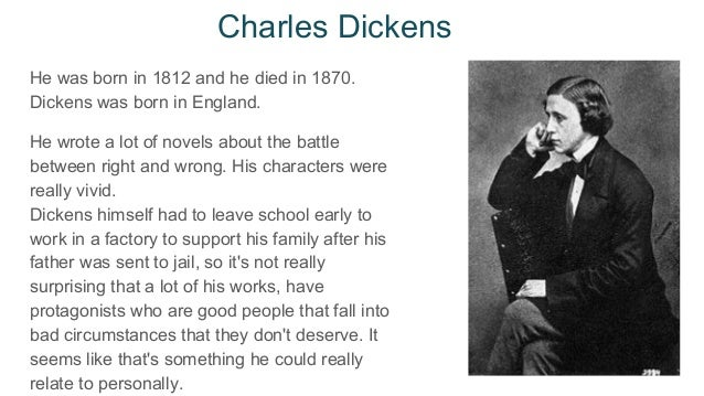 charles dickens and the victorian era Charles dickens was a prolific and highly influential 19th century british author, who penned such acclaimed works as 'oliver twist,' 'a christmas carol,' 'david copperfield' and 'great expectations'.