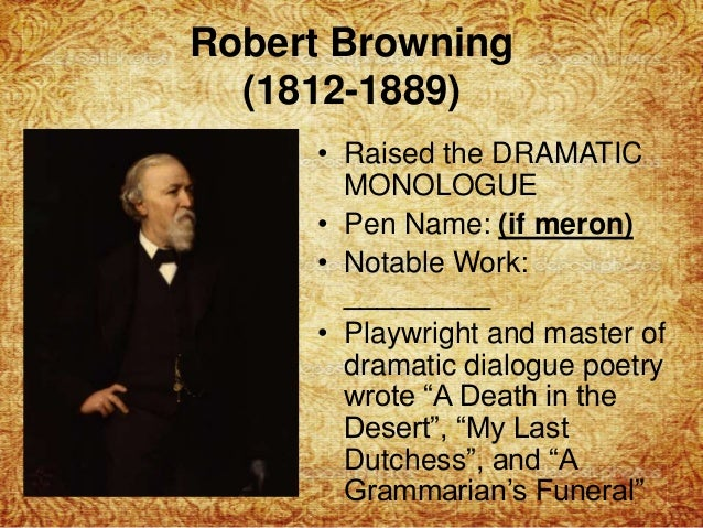 robert browning writing style Among all women poets of the english-speaking world in the nineteenth century, none was held in higher critical esteem or was more admired for the independence and courage of her views than elizabeth barrett browning.