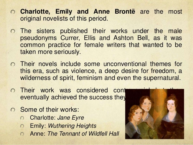the theme of male dominance in charlotte brontes jane eyre Discussion activity: jane eyre and independence to what extent does jane eyre represent a free spirit who demands equality and resists the 'ideologies of victorian femininity' to what extent could the 'dominant spirit' of jane eyre be said to be the willing self-confinement of 'self-sacrificing love and disinterested devotion' post your thoughts to the charlotte.