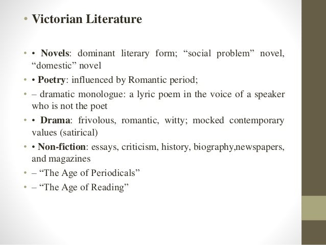 Essays on the victorian age