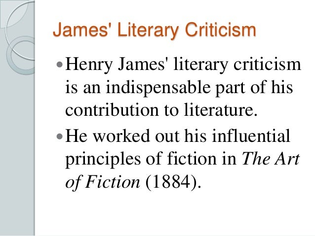 henry james essays london There is a certain evening that i count as virtually a first impression--the end of a wet, black sunday, twenty years ago, about the first of march there had been an.