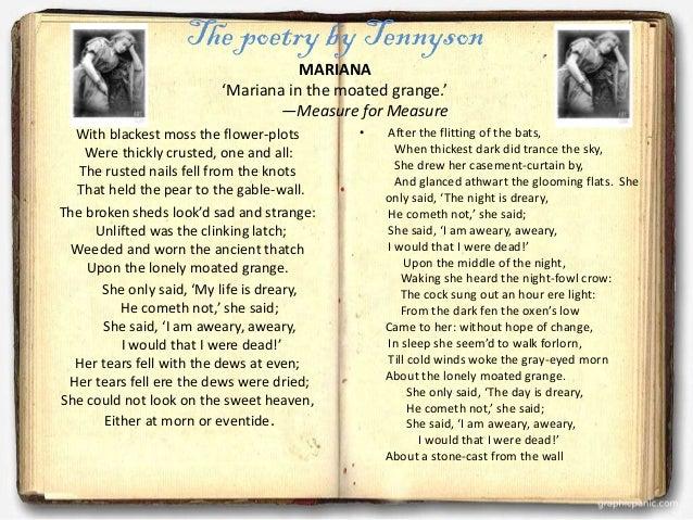 Nature In Tennyson S Poem In Memoriam