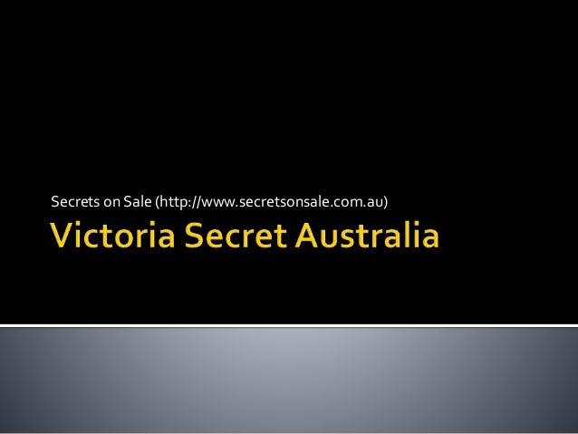 Secrets on Sale (http://www.secretsonsale.com.au)
